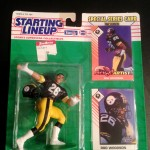 1993 rod woodson pittsburgh steelers starting lineup toy