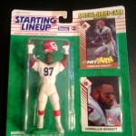 1993 cornelius bennett buffalo bills starting lineup toy