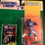 1994 barry sanders detriot lions starting lineup toy
