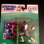 1997 CURTIS MARTIN new england patroits starting lineup toy