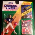 1992 buffalo bills jim kelly starting lineup toy