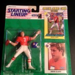 1993 denver broncos john elway starting lineup toy