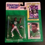 1993 philadlephia eagles randall cunningham starting lineup toy