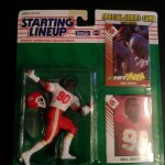 1993 neil smith kansas city cheifs starting lineup toy