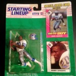 1993 barry sanders starting lineup toy figure detroit lions