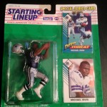 1993 michael irvin dallas cowboys starting lineup toy figure