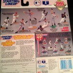 1995 kenner hasbro mlb starting lineup toy package back