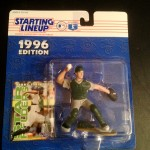 1996 terry steinbach oakland a's mlb starting lineup toy