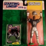 1994 ken norton dallas cowboys starting lineup toy