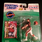 1997 Pat McInally Cincinnati bengals starting lineup toy