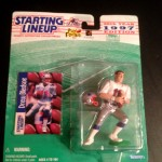 1997 drew bledsoe new england patriots starting lineup toy