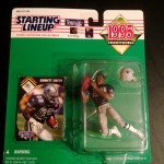 1995 dallas cowboys emmitt smith nfl starting lineup toy