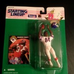 1995 shannon sharpe denver broncos nfl starting lineup toy