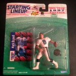 1997 mark brunell jacksonville jaguars starting lineup toy figure