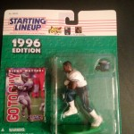 1996 RICKY WATTERS PHILADLEPHIA EAGLES STARTING LINEUP TOY