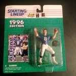 1996 jacksonville jaguars mark brunell nfl starting lineup toy