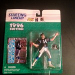1996 frank reich carolina panthers starting lineup toy