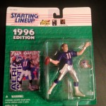 1996 drew bledsoe new england patriots starting lineup toy