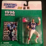 1996 chris spelman buffalo bills starting lineup toy figure