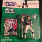 1996 dan marino miami dolphins starting lineup toy