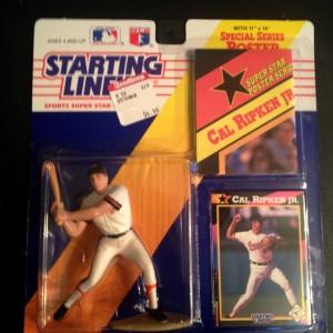 1992 cal ripken jr baltimore orioles mlb startingl ineup toy