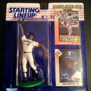 1993 ken griffey jr seattle mariners starting lineup toy