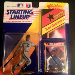 1992 ken griffey jr seattle mariners starting lineup toy