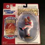 1995 bob gibson st louis cardinals starting lineup toy figure