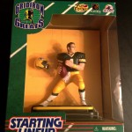 1997 brett favre green bay packers gridiron greats starting lineup toy