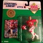 1995 joe montana kansas city cheifs starting lineup toy
