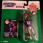 1995 ben coates new england patriots starting lineup toy