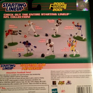 1999-2000 kenner hasbro starting lineup toy packaging back
