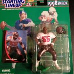 1998 derrick brooks tampa bay buccaneers starting lineup toy