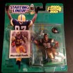 2000 st. louis rams marshall faulk starting lineup toy figure