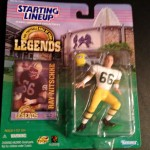 1998 ray nitschke green bay packers nfl legends starting lineup toy