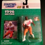 1996 eric rhett tampa bay buccaneers starting lineup toy