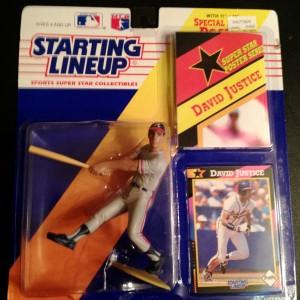 1992 david justice atlanta braves starting lineup toy