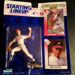 1992 tom glavine atlanta braves starting lineup toy