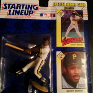 1993 barry bonds pittsburgh pirates starting lineup toy