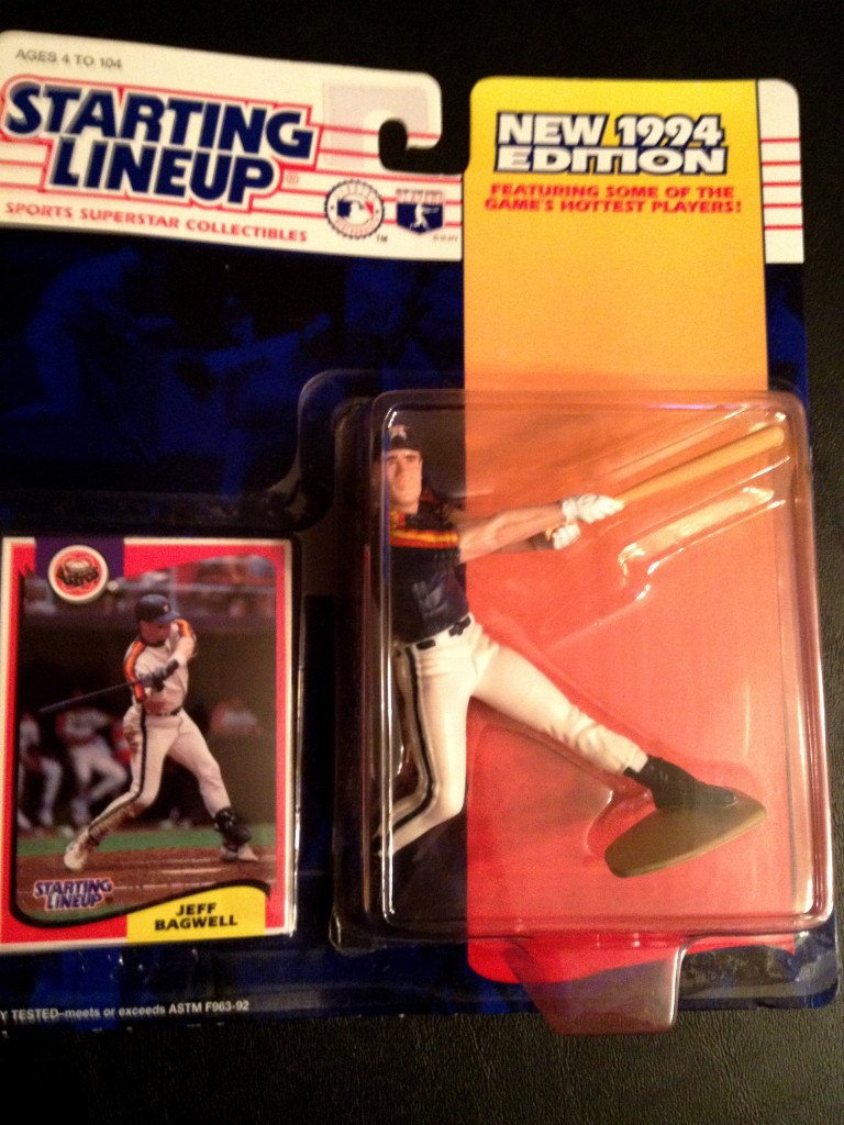 1994 Jeff Bagwell Starting Lineup Houston Astros