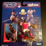 1998 Sandy Alomar Jr. cleveland indians starting lineup toy figure