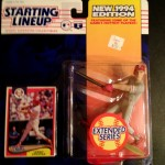 1994 lenny dykstra philadelphia phillies starting lineup toy