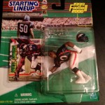 1999 neil smith denver broncos starting lineup toy