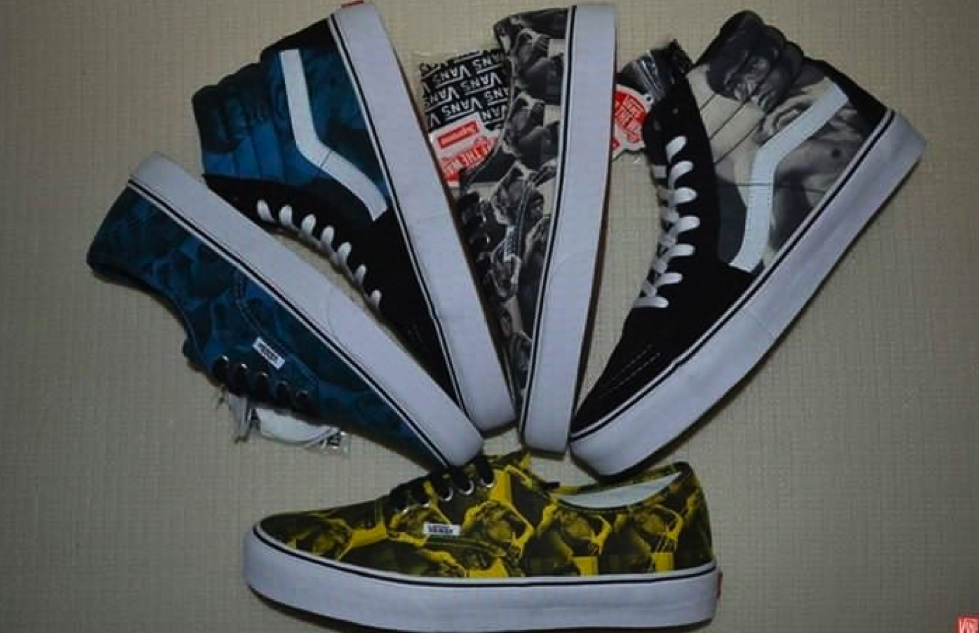 supreme x bruce lee vans fall winter 2013