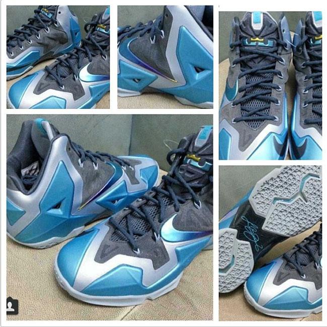 First Look: Nike Lebron 11 Armory Slate/Gamma Blue/ Light ...