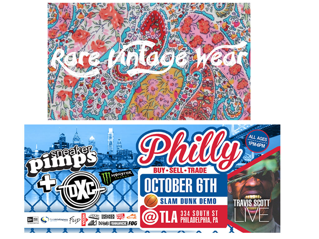 rare vintage wear sneaker pimps dunkxchange philly 2013