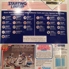 vintage 1993 mlb starting lineup toy figures