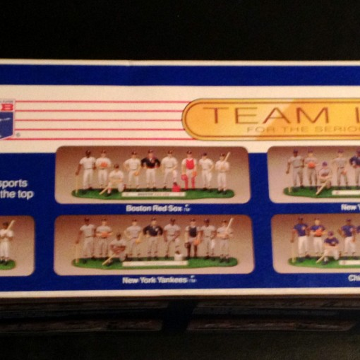 1989 boston red sox starting lineup team set