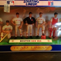 1989 boston red sox kenner hasbro starting lineup team set