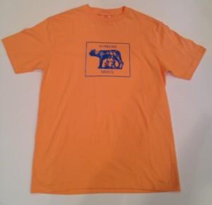 supreme romulus and remus vintage 2007 t shirt